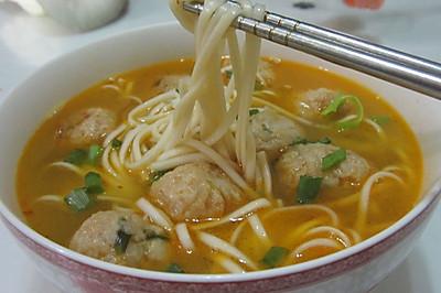 十二道锋味复刻--丸子汤面