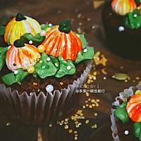 秋收杯子蛋糕