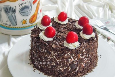 黑森林蛋糕#有颜值的实力派#