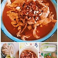 """""""水煮肉片""""(或""""水煮海鲜"""")的N种美味组合:四季水煮肉片的做法图解12"""