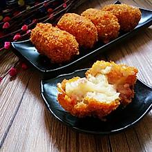 可乐芝士饼#樱花味道#