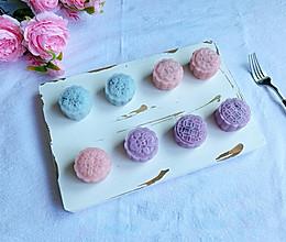 #合理膳食 营养健康进家庭#免烤箱糯唧唧冰皮月饼的做法