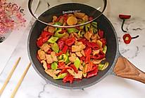 双椒肉片的做法