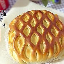 网纹果酱面包#东菱魔法云面包机#