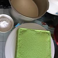 8寸生日蛋糕(方形)的做法图解2