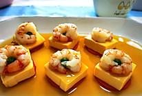 #美食视频挑战赛# 虾仁豆腐的做法