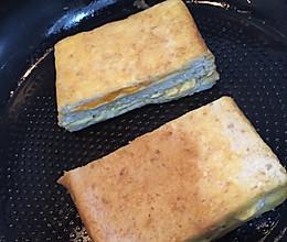芝士芒果蛋三明治的做法