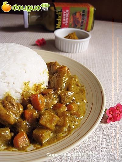 东南亚风味——咖喱鸡腿饭的做法