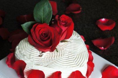 为爱而生 玫瑰蛋糕