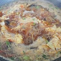 豉油葱香酸辣汤的做法图解8