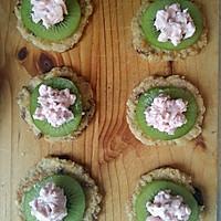 浓情水果塔(无糖低脂版_附燕麦酸奶蔓越莓小饼做法)的做法图解7