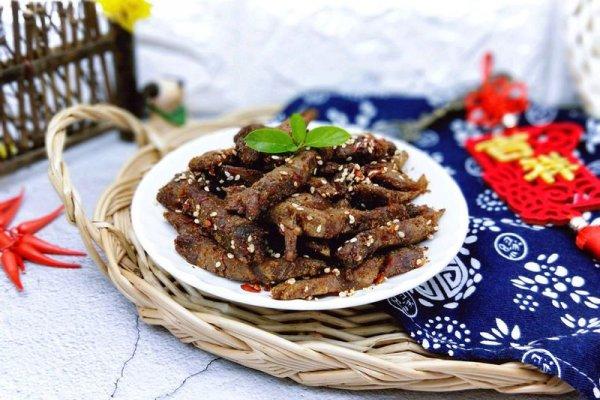 香辣牛肉干#中粮我买年味儿菜#的做法