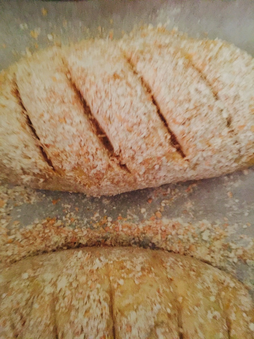 全麦面包的做法图解10