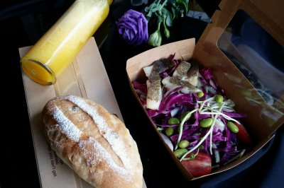 法式面包健身餐#相约MOF#