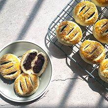 #年味十足的中式面点#黑米馅老婆饼(植物油版本,不需要出膜)