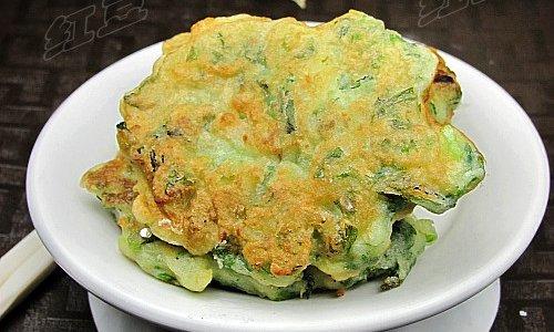 芹菜土豆饼的做法