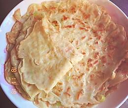 早餐鸡蛋菜饼的做法
