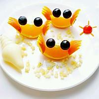 水果拼盘——小螃蟹#春天不减肥,夏天肉堆堆图片