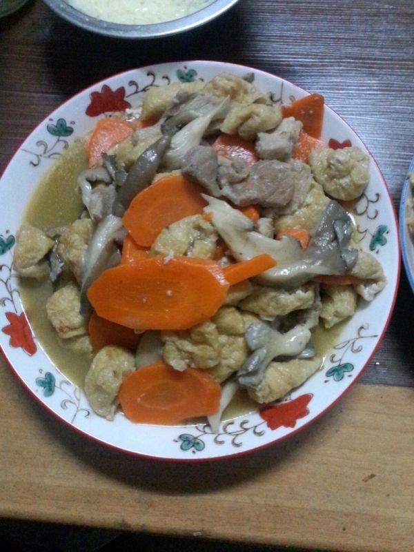 油豆腐菜谱炒肉的平菇_菜谱_豆果美食水浒传做法2幻想全开图片