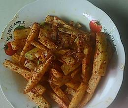 麻辣变态土豆条的做法