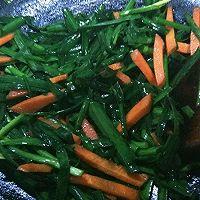 韭菜炒猪肝的做法图解6