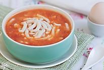番茄鱼面汤的做法