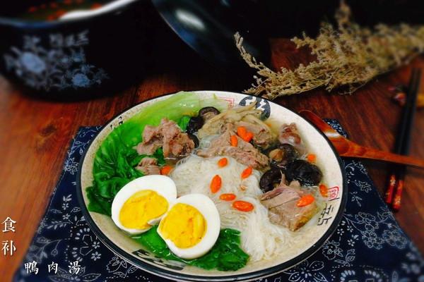 鸭肉汤面--福州的太平面的做法