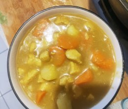 咖喱鸡肉土豆的做法