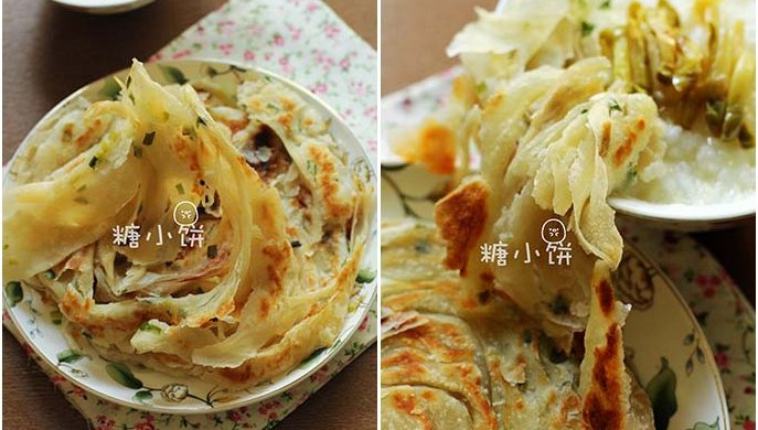 【葱油饼】