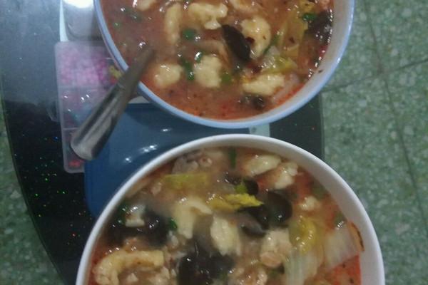 美味疙瘩汤的做法