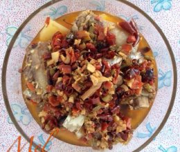 四椒土豆蒸排骨的做法