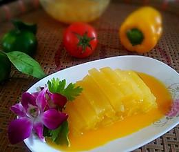 鲜果汁瓜条的做法