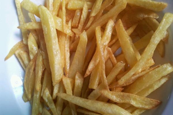 爱心薯条的做法