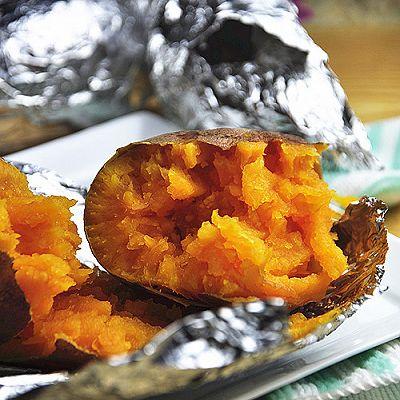 烤箱版烤红薯
