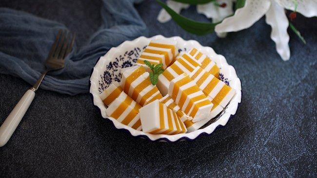 芒果椰浆千层糕#秋天怎么吃#的做法