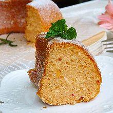 #520,美食撩动TA的心!#草莓味海绵蛋糕