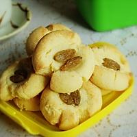 葡萄干蛋黄饼干