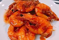 茄汁焖大虾(自制茄汁)的做法