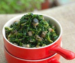 突破传统的新吃法--马兰拌螺肉的做法