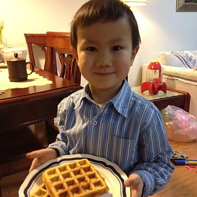 小手做羹汤——宝宝最爱下午茶——美味华夫饼