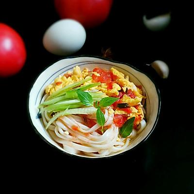 西红柿鸡蛋捞面