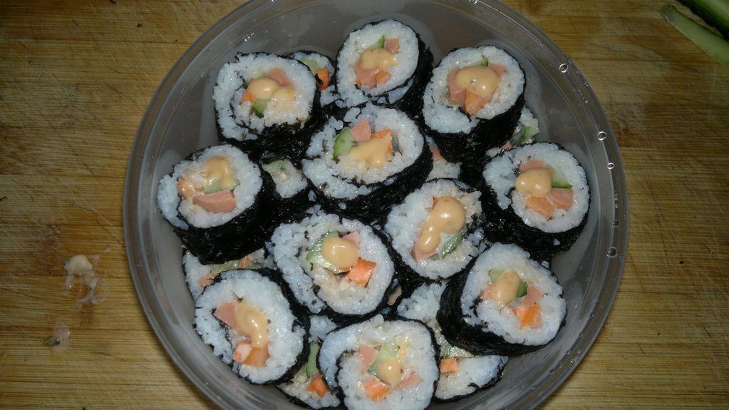 diy可爱寿司