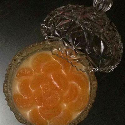 蜜糖橘子布丁