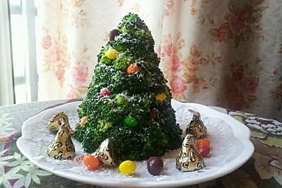 低热量土豆沙拉圣诞树(又是一年圣诞节)
