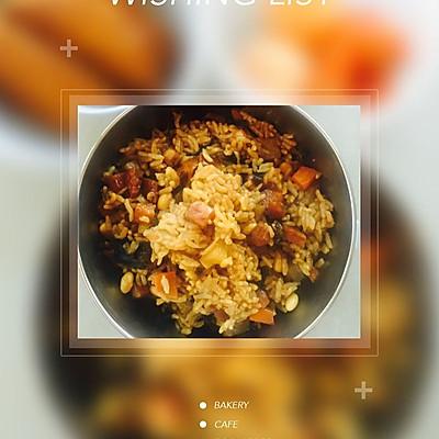 从小爱吃的红肠焖饭