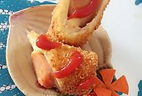 百变吐司之--香肠芝士吐司卷的做法