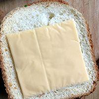 精美西式早餐三明治#百吉福芝士力量#的做法图解5