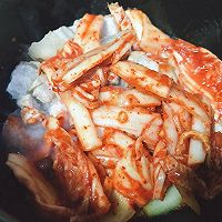 韩式五花肉辣白菜豆腐汤 思密达style 看韩剧必备宵夜的做法图解6