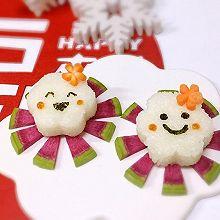 宝宝辅食-表情饭团