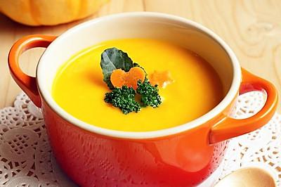 南瓜胡萝卜米糊——宝宝营养食谱之一